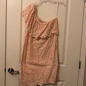 One-shoulder Loft Dress